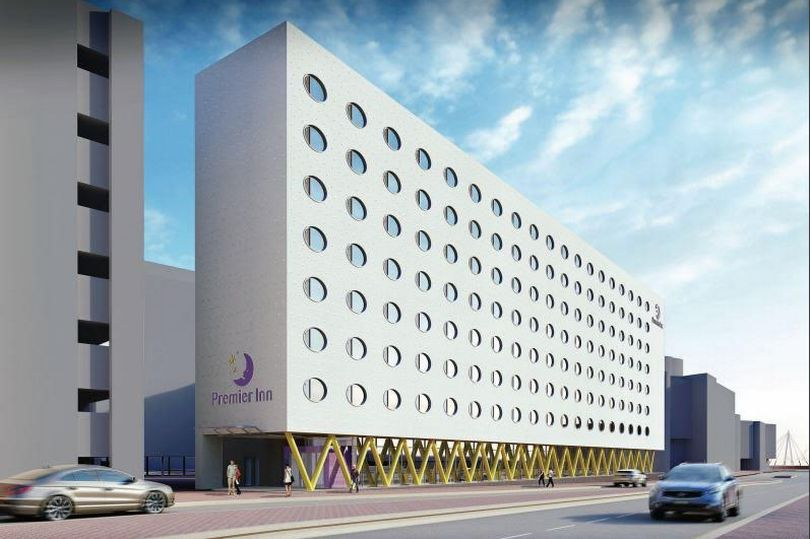 Premier Inn - Cardiff Waterside - Widopan, Liquid WaterProofing Systems for Roofs, Building, the Construction industy, Essex