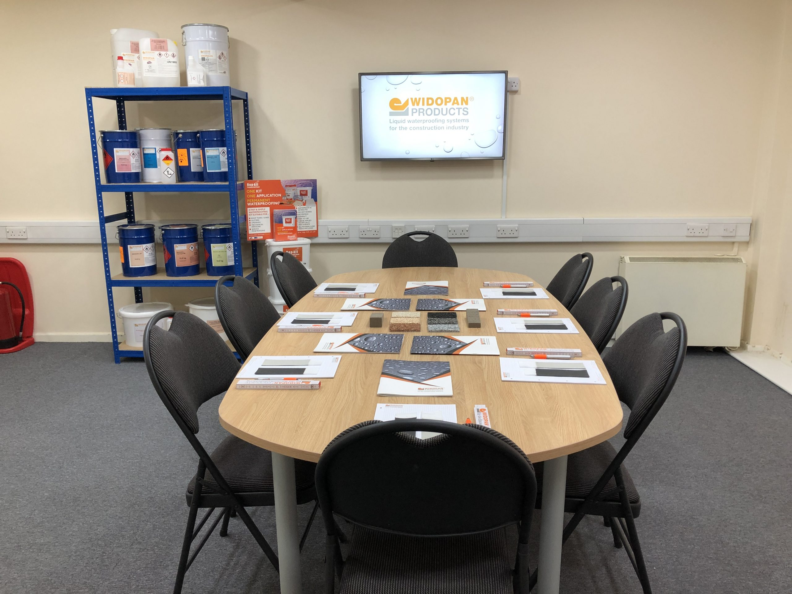 Installer Training Centre - Widopan, Liquid WaterProofing Systems for Roofs, Building, the Construction industy, Essex